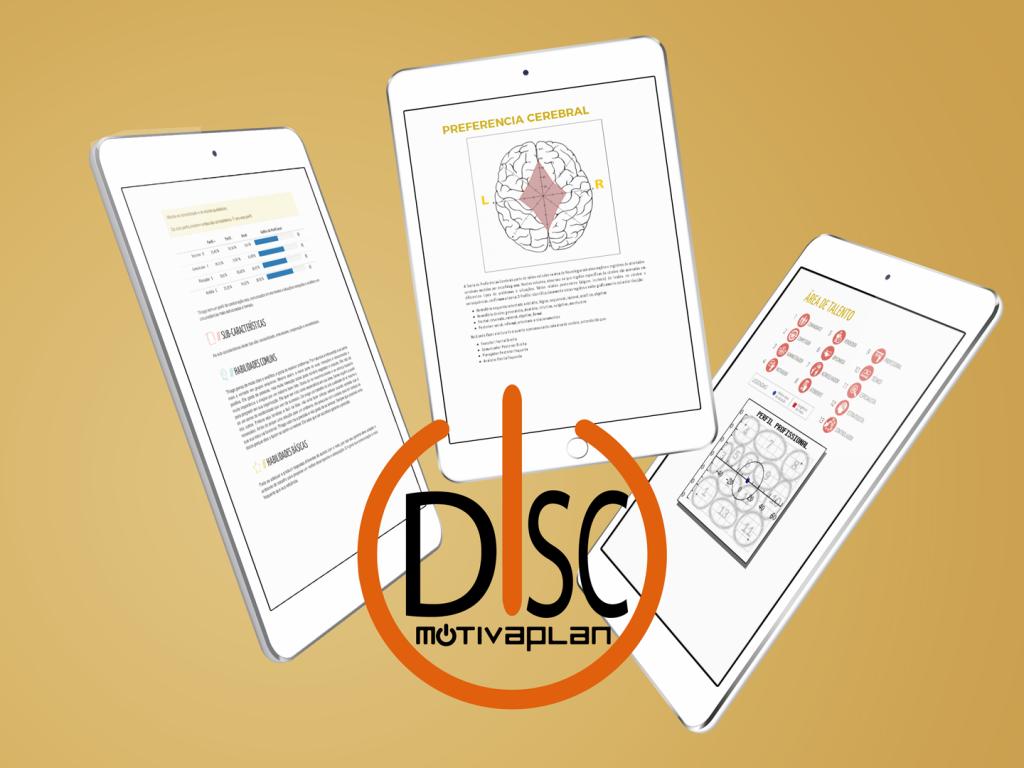 Detalhes Teste DISC Análise Perfil Comportamental Motivaplan