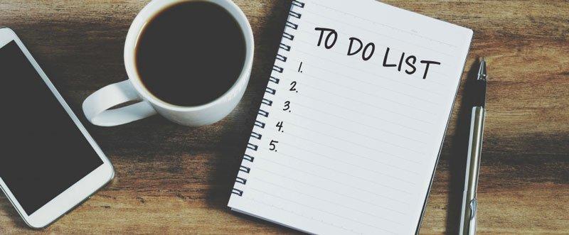 Tecnica de Produtividade Lista de Tarefas - Motivaplan