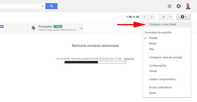 Como Ativar Novo Gmail - Motivaplan
