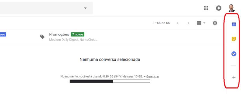 Agenda, Anotações e Tarefas Novo Gmail - Motivaplan,