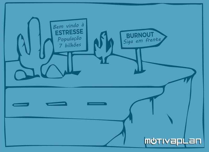 Diferença entre Estresse e Burnout Motivaplan